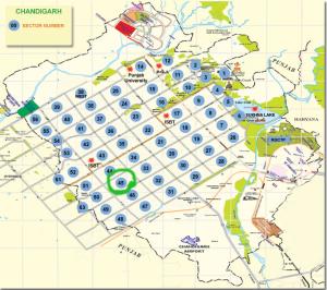 Chandigarh Map
